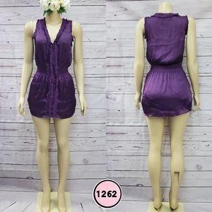 katie k medium purple mini dress